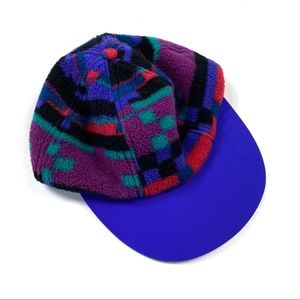 Columbia colorful fleece vintage winter kids hat